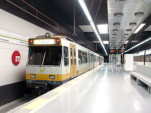 Gauge To Mm >> Line 1 (Metrovalencia) - Wikipedia