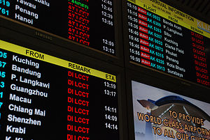Total Airport Management Systems - The Flight Information Display is part of the TAMS