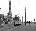 Tram at Talbot Square, Blackpool - geograph.org.uk - 1622250.jpg