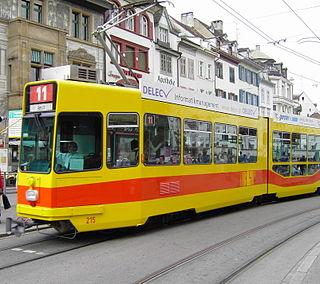 Trams in Basel tram system