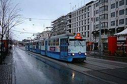 Tram in Göteborg, Sweden.jpg