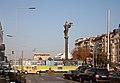 Tram in Sofia near Sofia statue 2012 PD 003.jpg