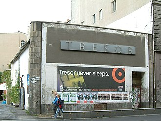 Jeff Mills - The Tresor Club in Berlin where Mills was a resident prior to launching Axis Records.