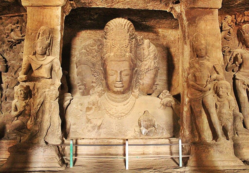 Trimurti, Cave No. 1, Elephanta Caves - 1