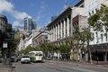 Trolley on Market Street in San Francisco, California LCCN2013631861.tif