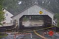 Tropical Storm Irene Flood-Bridge at Quechee Vermont 2011-08-28.jpg