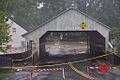 Tropical Storm Irene Flood-Bridge at Quechee Vermont 2011-08-28.jpg
