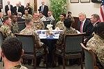 Trump visits MacDill Air Force Base (32715573546).jpg