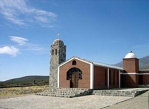 Amaicha del Valle - Image: Tucuman Amaicha Iglesia Ampimpa
