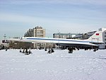 Tupolew Tu-144 CCCR-77107 near the German Russian Institute of Advanced Technologies in Kazan, Tatarstan, Russia.jpg