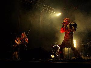 Turisas - Turisas performing at Jalometalli 2008