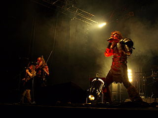 Turisas Finnish metal band
