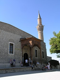 Turkey, Konya - Alaeddin Mosque 01.jpg