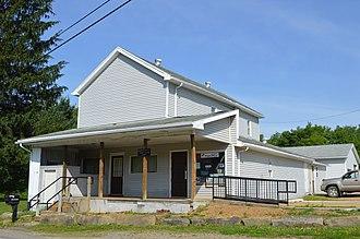 Pennsylvania Route 338 - Post office in Turkey City
