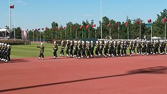 Turkish Military Academy - Young officers graduation ceremony