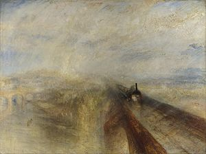 Rain, Steam and Speed – The Great Western Railway - Image: Turner Rain, Steam and Speed National Gallery file