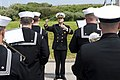 U.S. Navy Band Europe performs at Utah Beach ceremony (Image 1 of 6) 160604-N-AX546-010.jpg