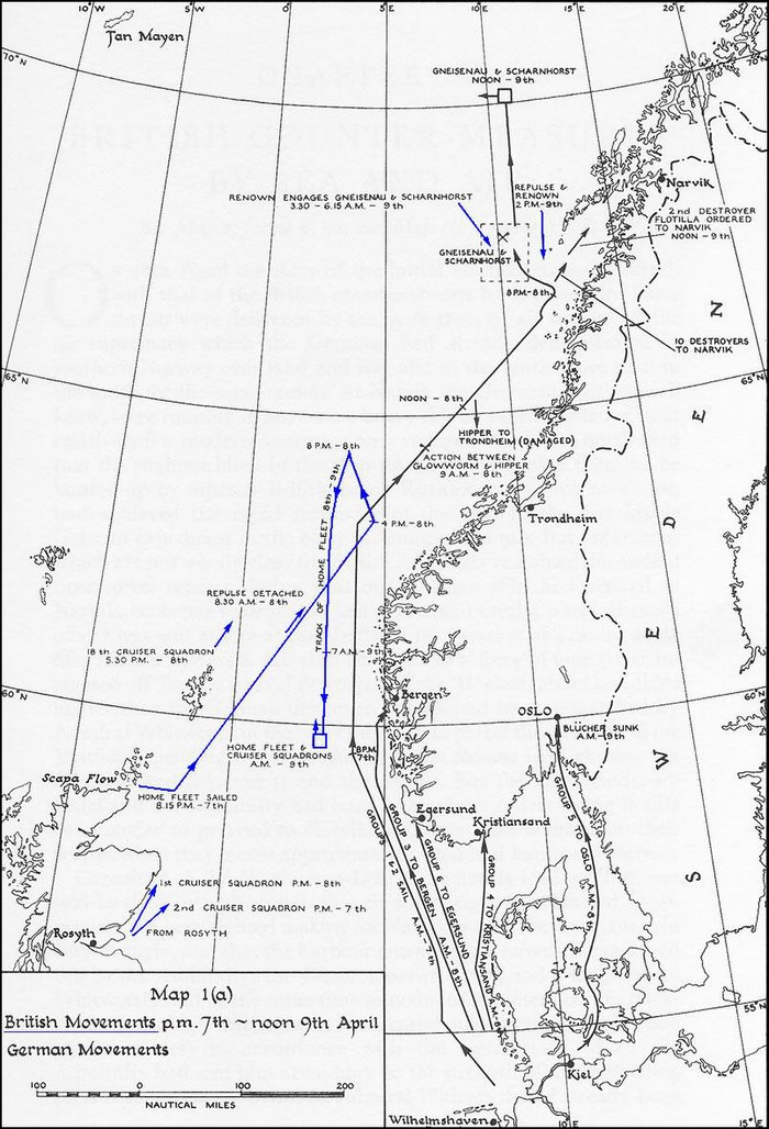 German and British naval movements from 7-9 April UK-NWE-Norway-1a.jpg