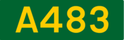 A483 road shield