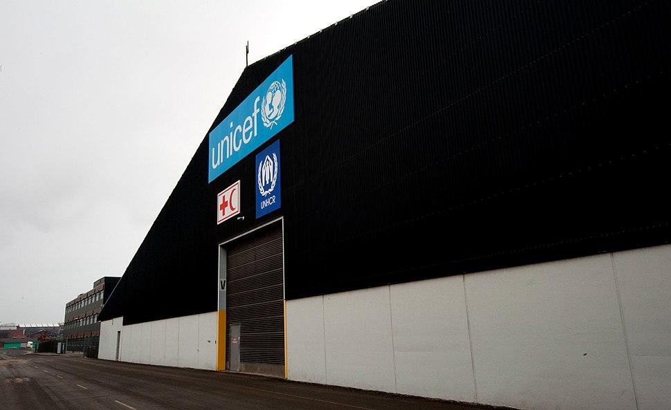 UNICEF world warehouse gate