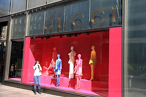 Gucci - Gucci Store on Fifth Avenue in New York City