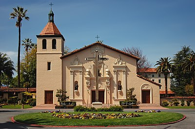 Santa Clara University is ranked as one of the best universities in the Western United States by U.S. News & World Report. USA-Santa Clara-Mission-3.jpg