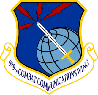 689th Combat Communications Wing - Image: USAF 689 Combat Communications Wing