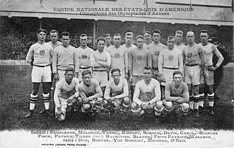 United States national rugby union team - USA rugby team for the October 1920 test match vs France
