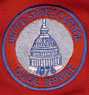 United States Capitol Guide Service - Patch of the United States Capitol Guides