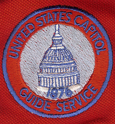 Patch of the United States Capitol Guides USCGSpatch.jpg