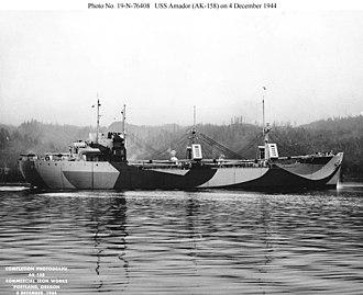 USS Amador (AK-158) - Image: USS Amador (AK 158)