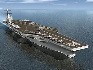 USS Enterprise (CVN-80) - Image: USS Enterprise (CVN 80) artist depiction