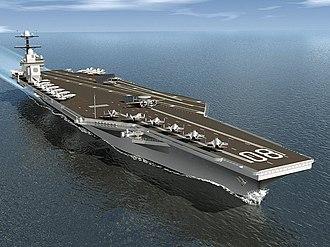 USS Enterprise (CVN-80) - Image: USS Enterprise (CVN 80) artist depiction