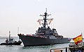 USS Ross arrives in Rota, Spain. (14252333508).jpg
