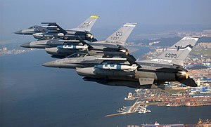 US Air National Guard F-16s over Kunsan, ROK.jpg