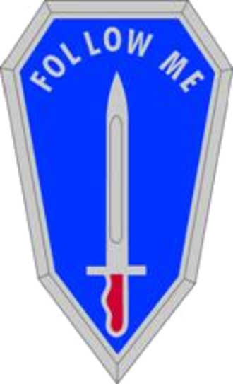 United States Army Infantry School - School headquarters' and the Airborne and Ranger Training Brigade's distinctive unit insignia