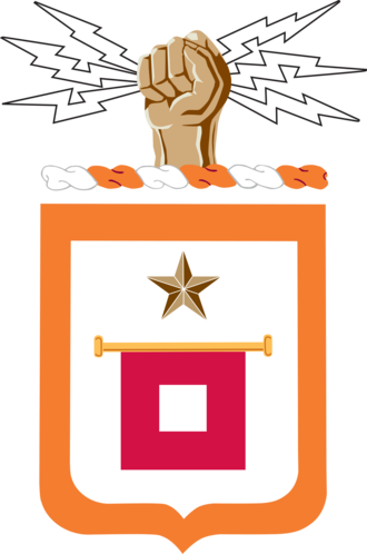 Mike Souchak - Image: US Army Signal Corps Coat Of Arms
