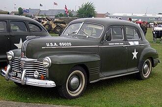 Pontiac Torpedo - 1941 Pontiac Deluxe Torpedo Eight Metropolitan Sedan (A-body)