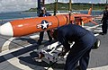 US Navy 030819-N-2613R-007 Sailors from Fleet Activities Okinawa, Japan on load target drones.jpg