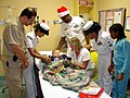 US Navy 031224-N-0351R-002 Personnel assigned to Navy Recruiting District Miami, donated gifts to the children's hospital.jpg