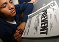 US Navy 040923-N-8158F-012 Airman Camilo Torres, of Brooklyn, N.Y., participates in a scheduled Prevent course.jpg