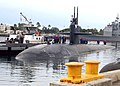 US Navy 070313-N-9486C-001 Fast attack submarine USS Bremerton (SSN 698) returns to the operational side of the Pacific Submarine Force as she returns to Pearl Harbor Naval Station.jpg