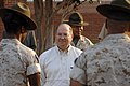 US Navy 070625-N-3642E-114 Secretary of the Navy (SECNAV) The Honorable Dr. Donald C. Winter tours Marine Corps Recruit Depot, Parris Island.jpg