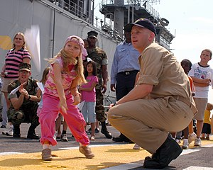 NORFOLK, Va. (July 25, 2007) - A young girl th...
