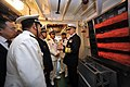 US Navy 090420-N-8273J-114 Chief of Naval Operations (CNO) Adm. Gary Roughead, receives a tour of the People's Liberation Army Navy Destroyer Luyang 2 while visiting with senior PLA naval leadership in Qingdao, China.jpg