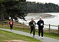 US Navy 091118-N-9860Y-003 Participants in the annual Naval Air Station Whidbey Island Turkey Trot Fun Run passes by Cliffside RV Park on Seaview Trail.jpg