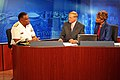US Navy 110511-N-ZL585-022 Rear Adm. Victor G. Guillory is interviewed on the WWL-TV morning show.jpg
