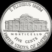 Jefferson nickel - Wikipedia
