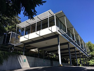 Paul H. Kirk - University of Washington Faculty Club, co-designed by Kirk and Victor Steinbrueck, constructed 1958-1960.