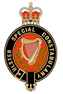 Ulster Special Constabulary Specialized police force of Northern Ireland